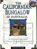 The Californian Bungalow in Australia