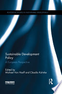 Sustainable Development Policy Book