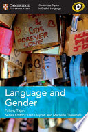 Books - New Language And Gender | ISBN 9781108402170