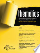 Themelios Volume 33 Issue 2