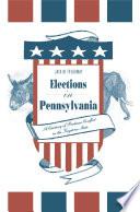 Elections in Pennsylvania