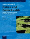Oxford Textbook of Nature and Public Health Pdf/ePub eBook