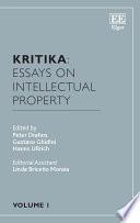 Kritika Essays On Intellectual Property