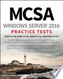 Mcsa Windows Server 2016 Practice Tests