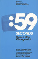 Cover of 59 Seconds