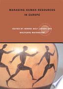 Managing Human Resources in Europe