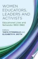 Women Educators  Leaders and Activists