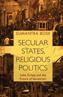 Secular States  Religious Politics