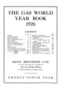 The Gas World Year Book