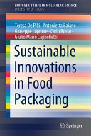 Sustainable Innovations in Food Packaging Book