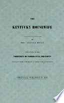 """The Kentucky Housewife"" by Lettice Bryan"