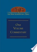 """""""The New Interpreter's® Bible One-Volume Commentary"""" by David L. Petersen, Beverly Roberts Gaventa"""