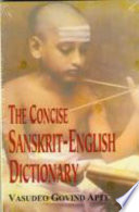 The Concise Sanskrit-English Dictionary