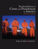 Pdf The Social History of Crime and Punishment in America Telecharger