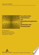 Translatorische Dimensionen von Konnektorensequenzen im Spanischen und Französischen