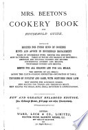 Mrs. Beeton's Cookery Book