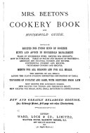Mrs  Beeton s Cookery Book