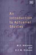 An Introduction To Actuarial Studies Book PDF