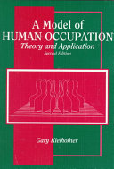 A Model of Human Occupation Book