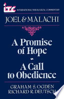 A Promise Of Hope A Call To Obedience