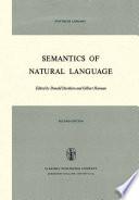 Semantics of Natural Language