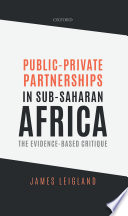 Public Private Partnerships in Sub Saharan Africa