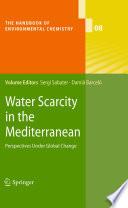 Water Scarcity in the Mediterranean Book