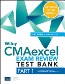 Wiley CMAexcel Learning System Exam Review 2021 Test Bank: Part 1, Financial Planning, Performance, and Analytics (1-year access)