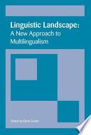 Linguistic Landscape