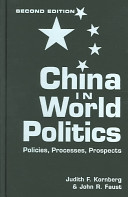 Cover of China in World Politics