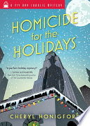 Homicide for the Holidays Book