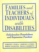 Families and Teachers of Individuals with Disabilities
