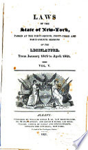 Laws Of The State Of New York Passed At The Forty Second Forty Third And Forty Fourth Sessions Of The Legislature