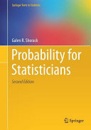 Cover image of Probability for Statisticians