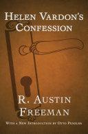 Pdf Helen Vardon's Confession Telecharger