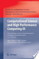 Computational Science and High Performance Computing III Book