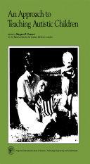 An Approach to Teaching Autistic Children Pdf/ePub eBook