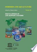 Fisheries and Aquaculture - Volume III