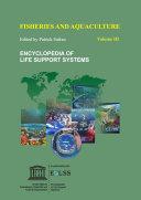 Fisheries and Aquaculture   Volume III