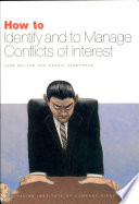 How To Identify To Manage Conflicts Of Interest