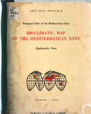 Bioclimatic Map of the Mediterranean Zone Book