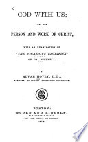 God With Us Or The Person And Work Of Christ Book PDF