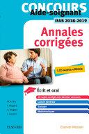 Pdf Concours Aide-soignant - Annales corrigées - IFAS 2018/2019 Telecharger