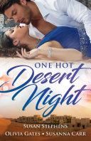 One Hot Desert Night - 3 Book Box Set