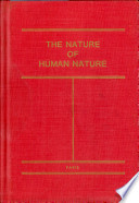 The Nature of Human Nature