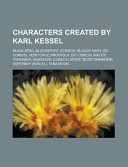 Characters Created by Karl Kessel
