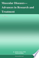 Muscular Diseases Advances In Research And Treatment 2012 Edition