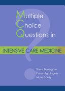 MCQs in Intensive Care Medicine