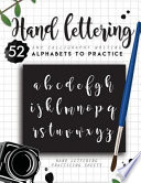 Hand Lettering and Calligraphy Writing