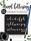 Hand Lettering and Calligraphy Writing Book PDF